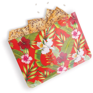 Tropical Reusable Zip Bags - 8 Pack