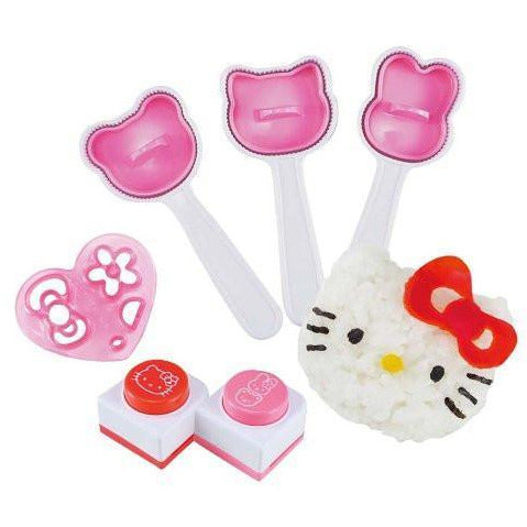 Hello Kitty Rice Mould & Stamper Set