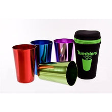Load image into Gallery viewer, Retro Tumblers To Go - Set of 4