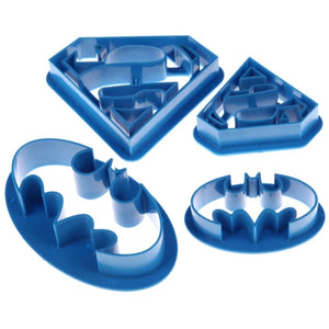 Superhero Cookie & Food Cutters REG $14