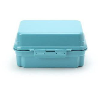 Gel Cool Plus Deli Two Tier Bento Box with Freezeable Lid - Macaroon Blue