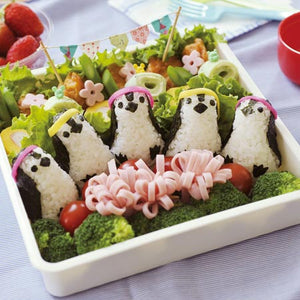 Penguin Rice Mould Set