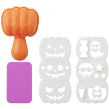 Load image into Gallery viewer, Halloween Pumpkin Rice Mould Set