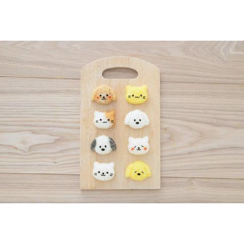 Dog & Cat Mini Rice Mould Set
