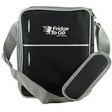 Load image into Gallery viewer, Fridge To Go Mini Fridge 12 Can Lunch Bag Black
