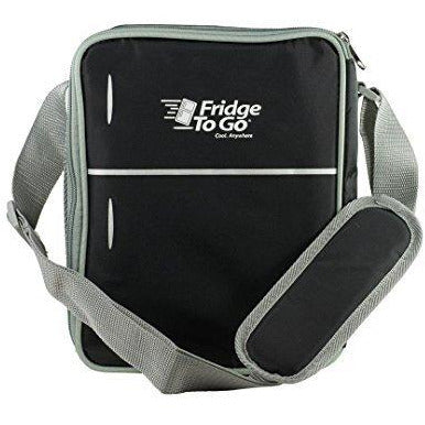 Fridge To Go Mini Fridge 12 Can Lunch Bag Black