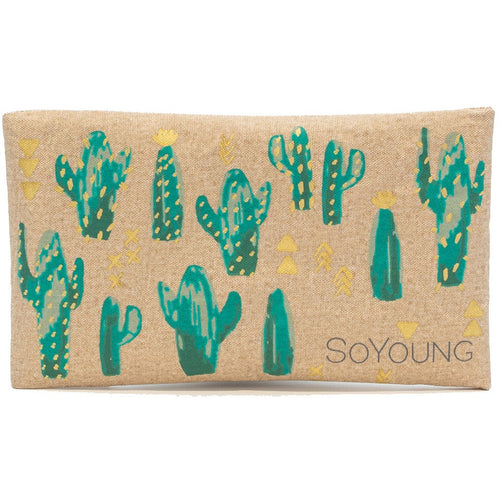 So Young Ice Pack with Sweat Free Cover - Cacti Desert