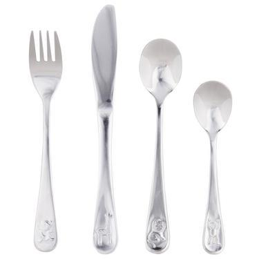 Dline 4 Piece Kids Cutlery Set - Zoo
