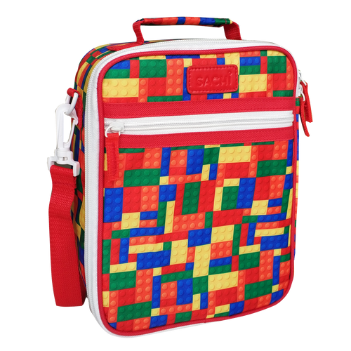 Sachi Insulated Lunch Tote - Bricks