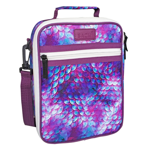 Sachi Insulated Lunch Tote - Dragon / Mermaid Scales