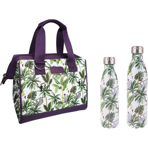 Sachi Insulated Lunch Bag - Jungle Friends