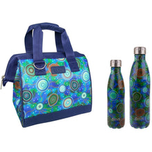 Load image into Gallery viewer, Sachi Insulated Lunch Bag - Sea Turtles
