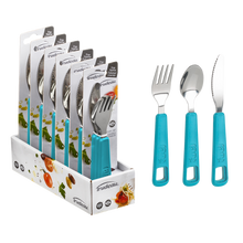 Load image into Gallery viewer, Fuel 3 Piece Snap Cutlery Set