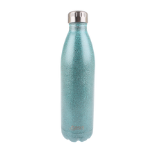 Load image into Gallery viewer, Oasis Glitter Stainless Steel Insulated Drink Bottle 750ml - Arctic Blue