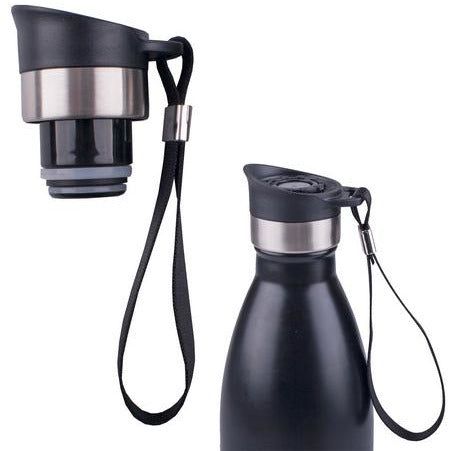 Oasis Pour Through Sports Stopper with Carry Strap - to suit 350ml & 500ml