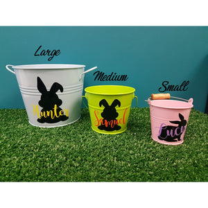 Personalised Easter Bucket - Medium
