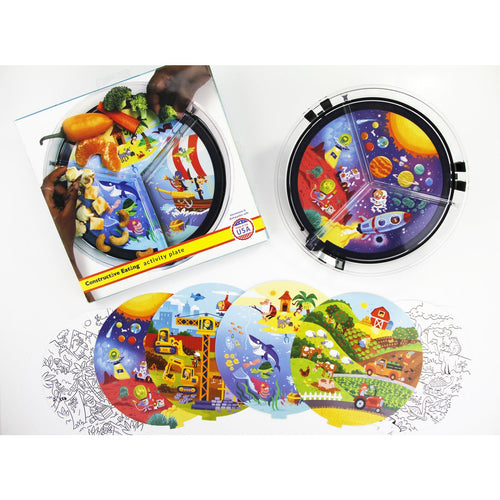 Constructive Eating - Activity Plate