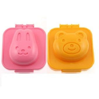 Bear & Bunny Egg Mould