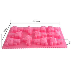 Bear Silicone Tray