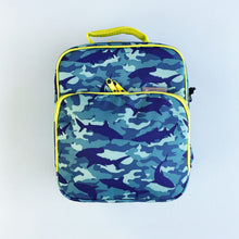 Load image into Gallery viewer, Bentology - Shark Camo Lunch Bag