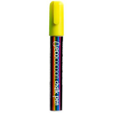 Ecococoon Chalk Pen - Yellow (to suit Messenger Bottles)