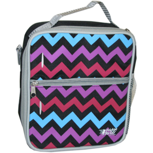 Fridge To Go Medium Lunch Bag Chevron Pattern