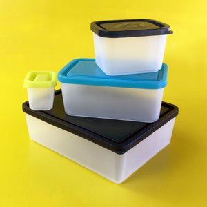 Bentology - Box Set of 4 Containers Beach