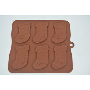 Christmas Stocking Silicone Tray