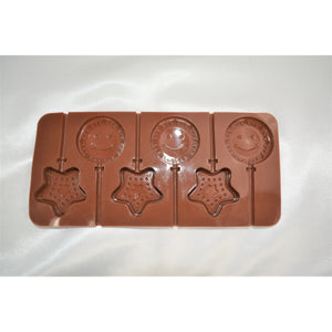 Star and Sun Lollipop Silicone Tray