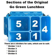 Load image into Gallery viewer, Go Green Divider Section 3 - Blue