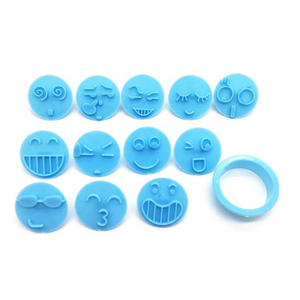 3D Emoji Cookie Cutters