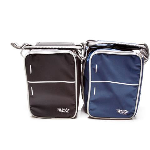 Fridge To Go Mini Fridge 6 Can Lunch Bag Black