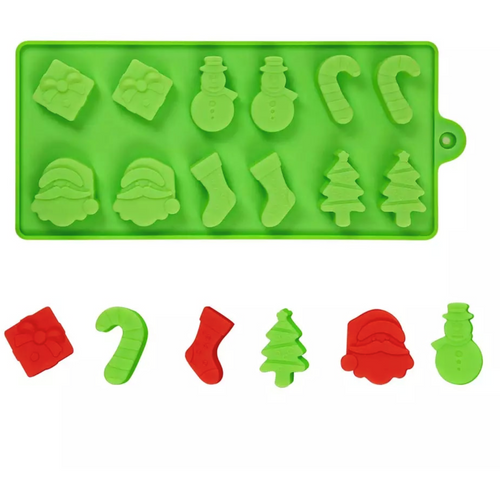 Christmas Silicone Tray