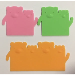 Silicone Bear Lunch Box Dividers (Baran)