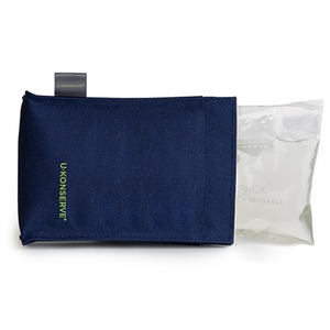U-Konserve Ice Pack with Sweat Free Cover - Navy
