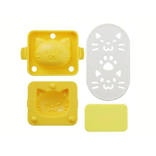 Cat Rice & Egg Mould Set
