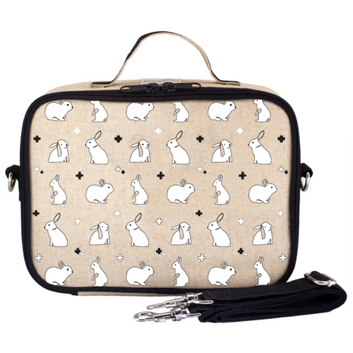 So Young Insulated Lunch Bag - Bunny Tile