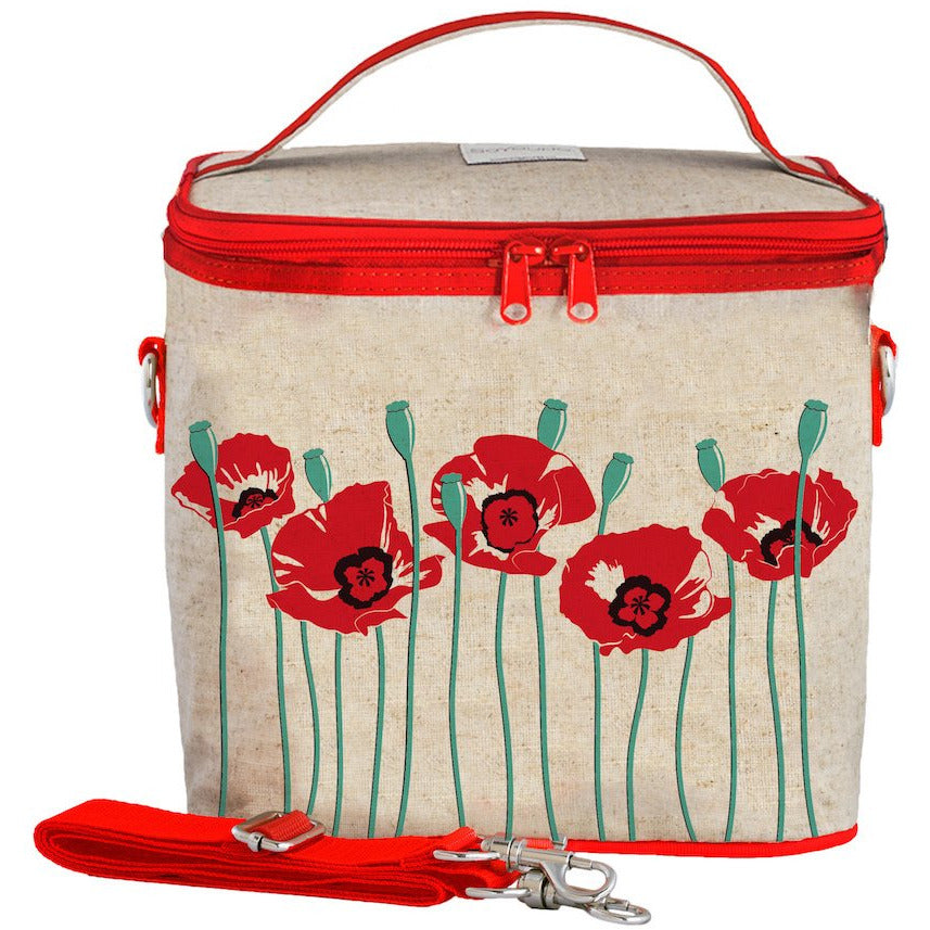So Young Cooler Bag - Red Poppy