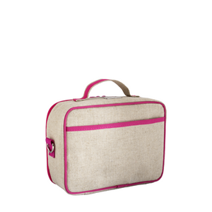 So Young Insulated Lunch Bag - Pink Fawn
