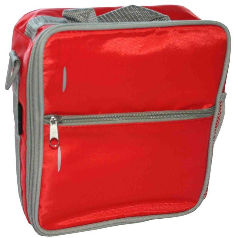 Fridge To Go Medium Lunch Bag Red