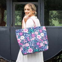 Load image into Gallery viewer, MontiiCo Insulated Tote Bag - Wildflower