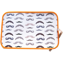 Load image into Gallery viewer, Chalk Placemat - Mustache