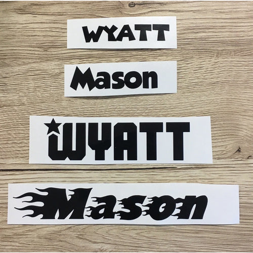 Personalised Vinyl Labels