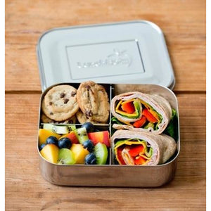 Lunchbots Trio 2 Stainless Steel Lunchbox (3 Compartments)