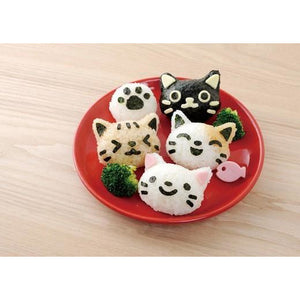 Cat Rice Mould Set