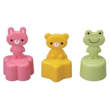 Trio Animal Sandwich Stamp & Cutter Set