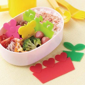 Happy Silicone Lunchbox Dividers