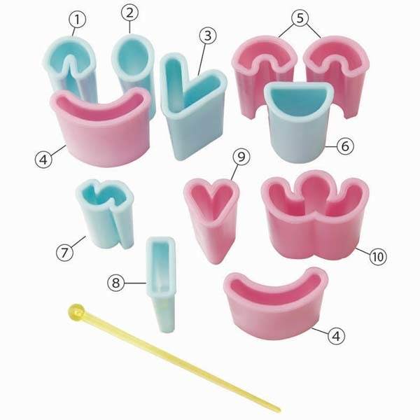 Create A Face Food Cutters