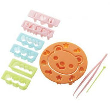 Load image into Gallery viewer, Bear & Message Food Cutter Set