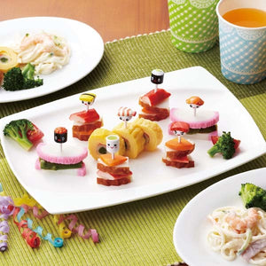 Sushi Faces & Accessory Food Picks